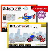 Robotrix Kids + Robotrix Electronica kit (Combo Kit)