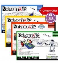 Robotrix Senior+Robotrix Junior+Robotrix Kids+Robotrix Electronica (Combo Kit)