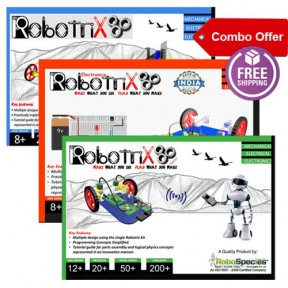 Robotrix Senior+Robotrix Junior+Electronica (Combo Kit)
