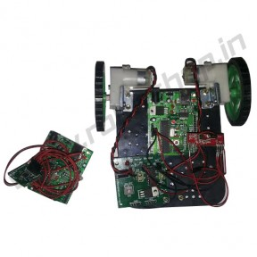 Gesture Controlled Robot using Accelerometer (wireless)
