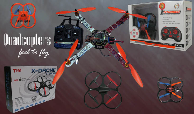 How to make Quadcopter in India???