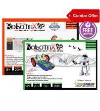 Robotrix Senior + Robotrix Electronica Kit (Combo Kit)