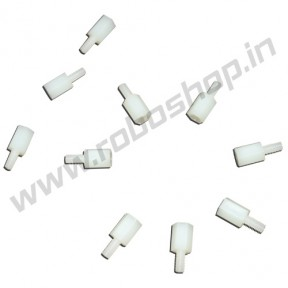 Nylon Threaded Spacer 5.6mm x 14mm (10pcs)