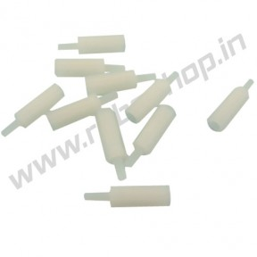 Nylon Threaded Spacer 5.6mm x 21mm (10pcs)