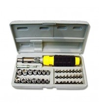 Ratching Screw Driver Set