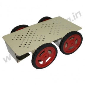 4 Wheel Robotic Platform 2.0 with BO Motor (4x4 Drive)