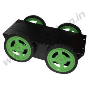 4 Wheel Robotic Platform 1.0 with BO Motor (4x4 Drive)