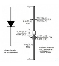 Diode IN4007