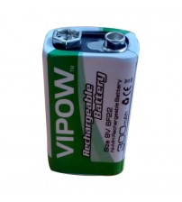 Vipow 9v rechargeable Battery