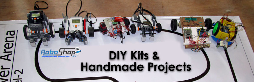 Do It Yourself (DIY)  Robotic Kits